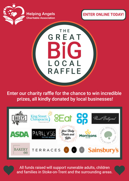 Take part in The Great Big Local Raffle!