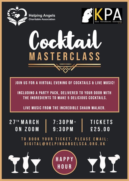 Join us at our Virtual Cocktail Masterclass!