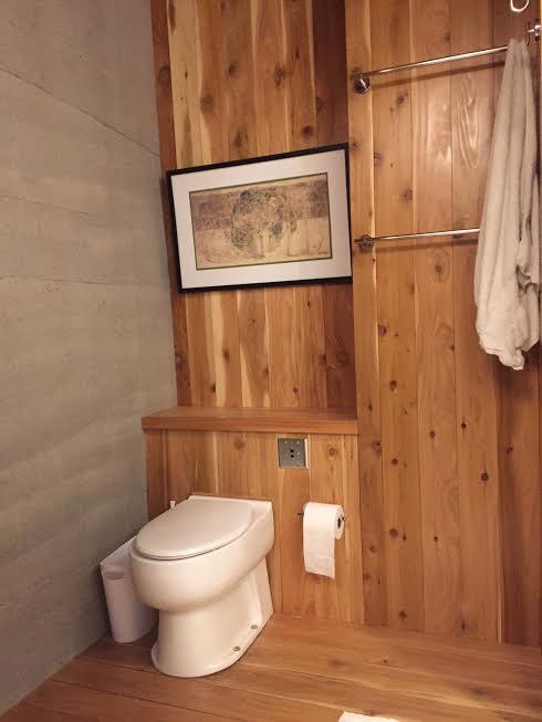 Modern & sleek composting toilets
