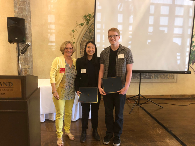 RWC Honors two busy students