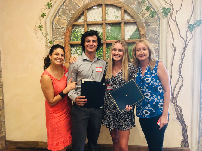 Los Alamitos High School Students honored