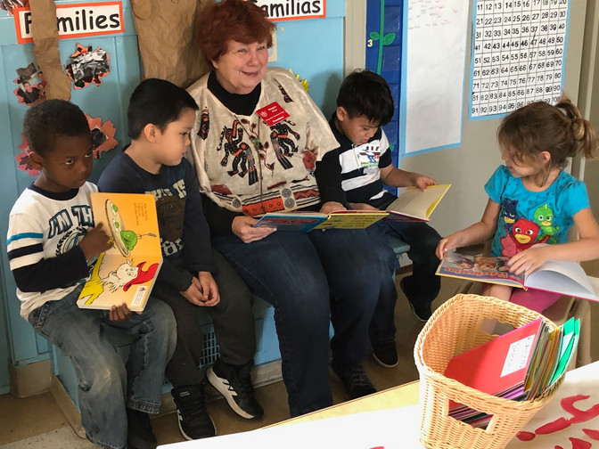 RWC Gives Gift of Dr. Seuss