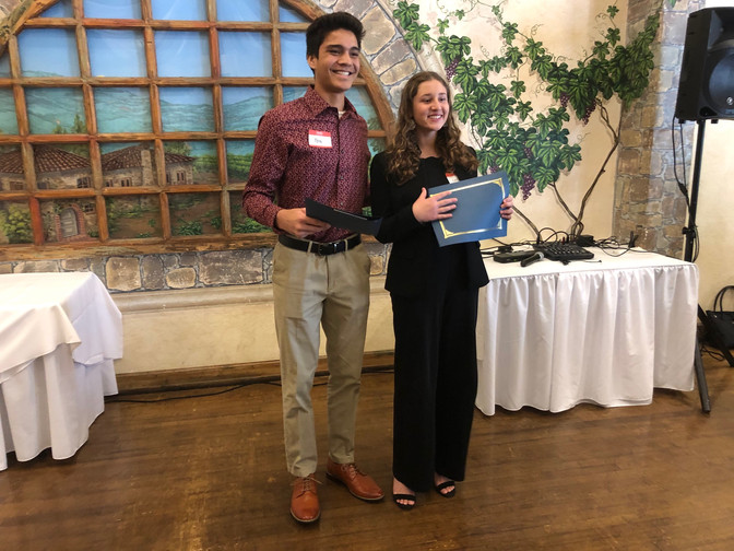 Water Polo, Track Inspire Los Alamitos  Students of the Month