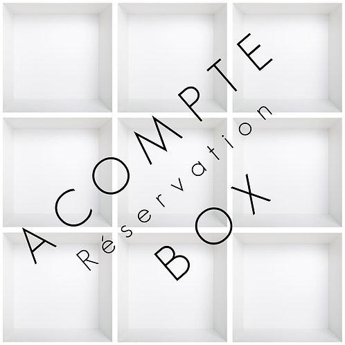 Acompte - Famiy Box