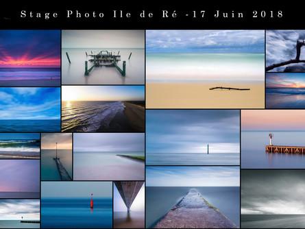 Stage photo Paysage et Pose Longue sur l'Ile de Ré - Dimanche 17 Juin 2018