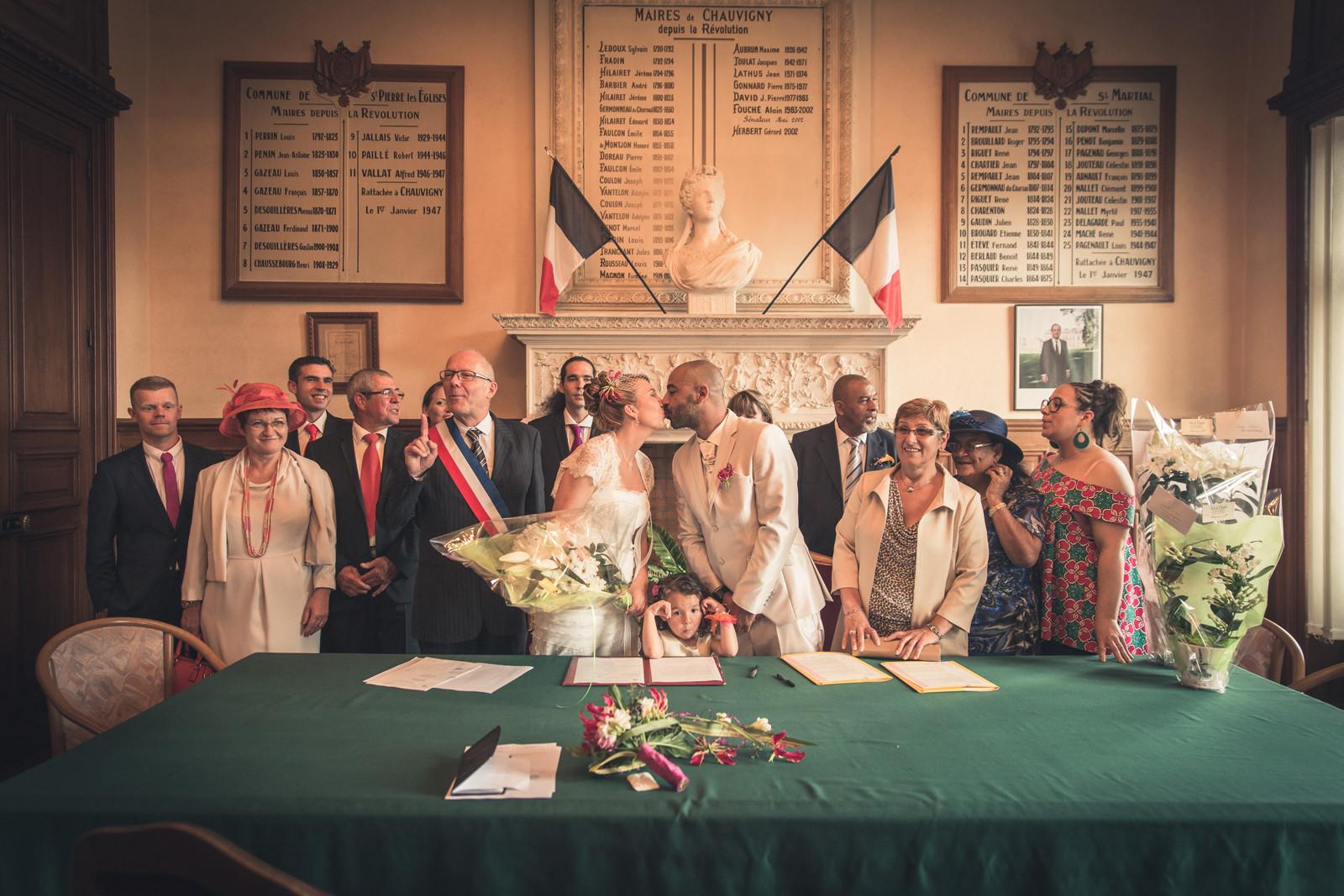 La cérémonie civile
