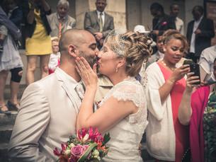 Mariage de Gaelle et Steve à Chauvigny, près de Poitiers