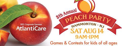 8th Annual Peach Party–Aug 14