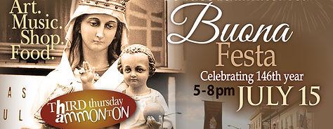 July Third Thursday-Buona Festa