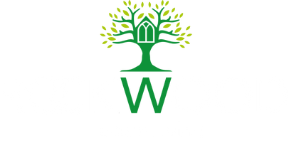 ROCKWOOD Green Tree Logo white and green