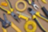 Electrican der Werkzeuge