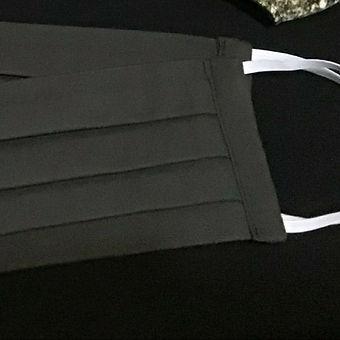 Flat Mask Plain Black