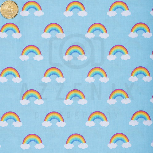 Flared Pad: Rainbows