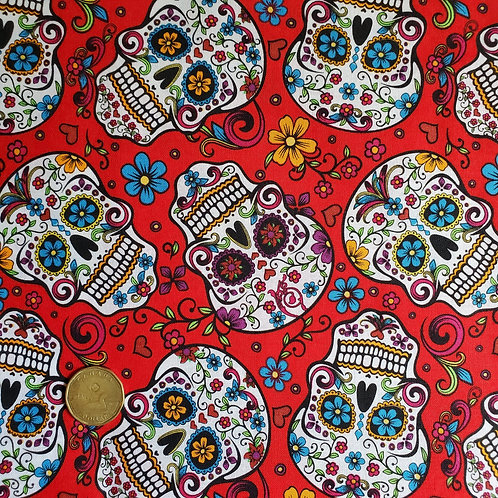 Standard Pad: Red Sugar Skulls