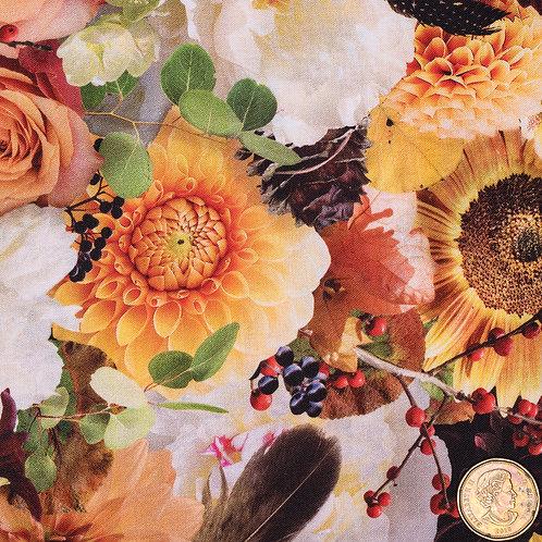 Flared Pad: Autumn Bouquet