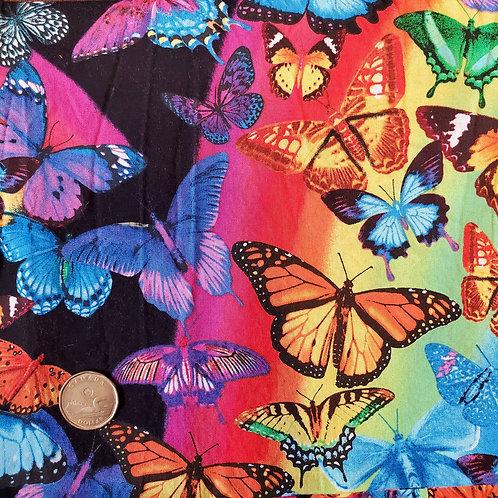 Standard Pad: Vibrant Butterflies