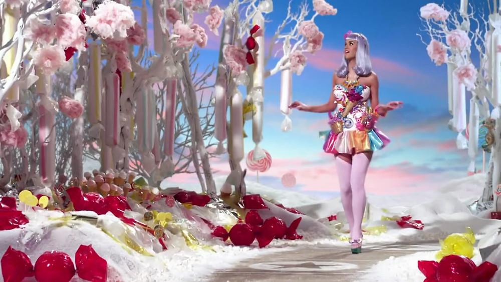 Katy Perry in California Gurls