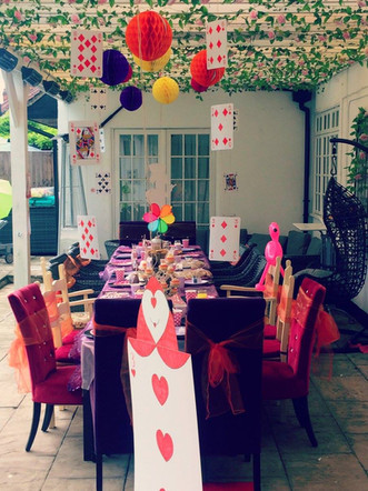 Our Leaver's Mad Hatter's Tea Party