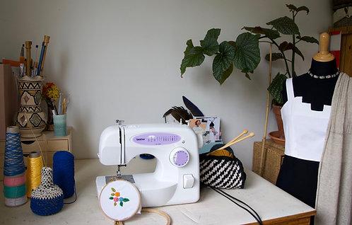 Carte Cadeau Cours Textile au choix, de 1h à 10h