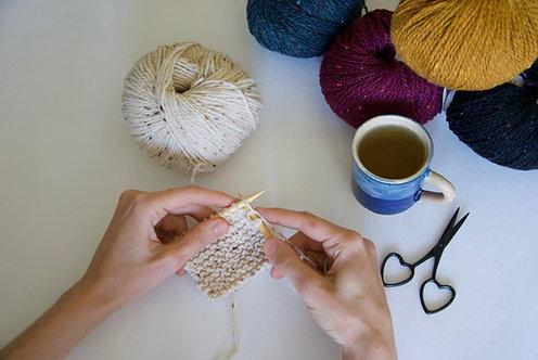 Cours particulier de tricot / Tous niveaux / à partir de 1h