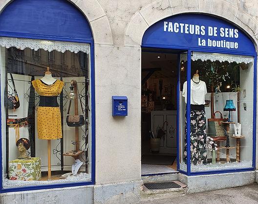 Boutique Facteurs de sens Besançon