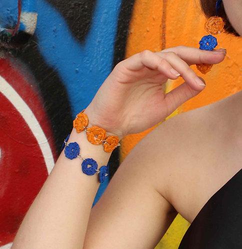 Bracelet Small Dots crocheté