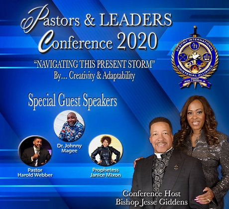 Pastors and Leaders Conference 2020 - Pastor Harold Webber MP3