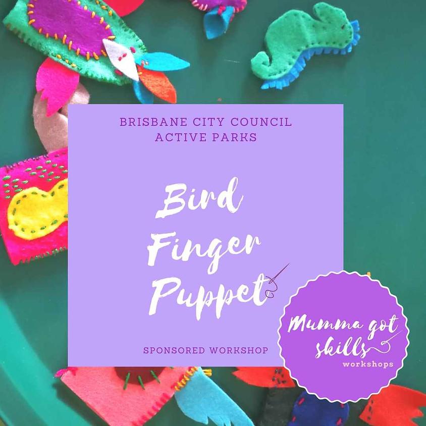 (Postponed) Active Parks: Bird Finger Puppet