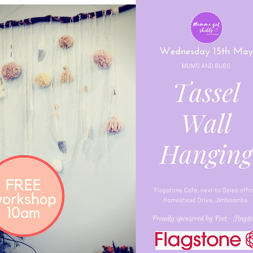 FREE Mums and Bubs Tassel Wall Hanging