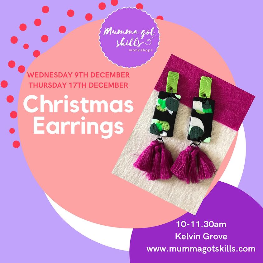 Christmas Earring Workshop