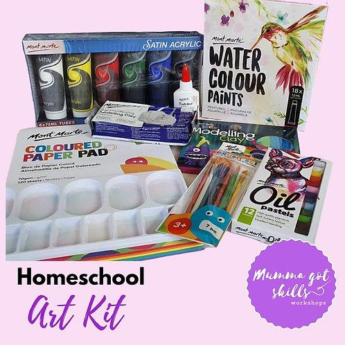 Homeschool Art Kit