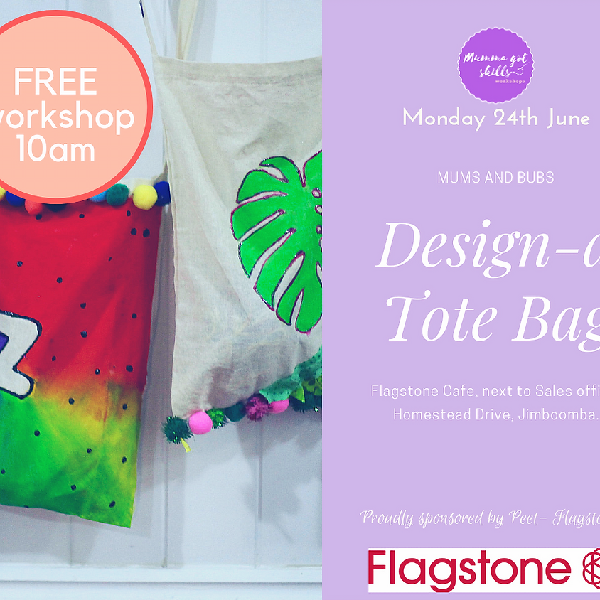 FREE Mums and Bubs Design-a Tote Bag