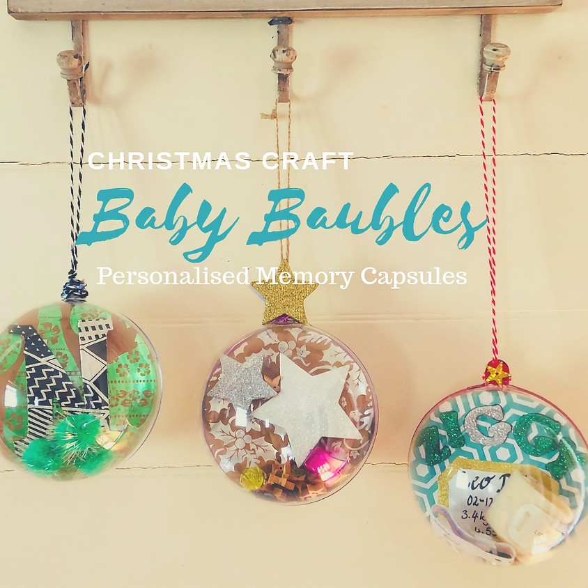 (SOLD OUT) Baby Christmas Baubles
