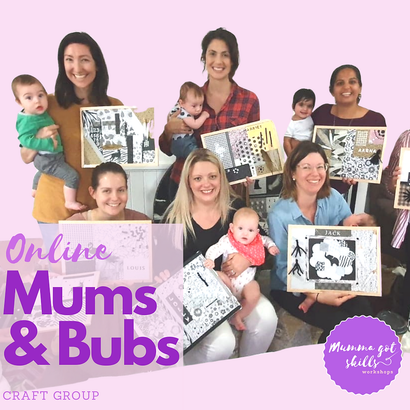 Online Mums and Bubs Craft Group