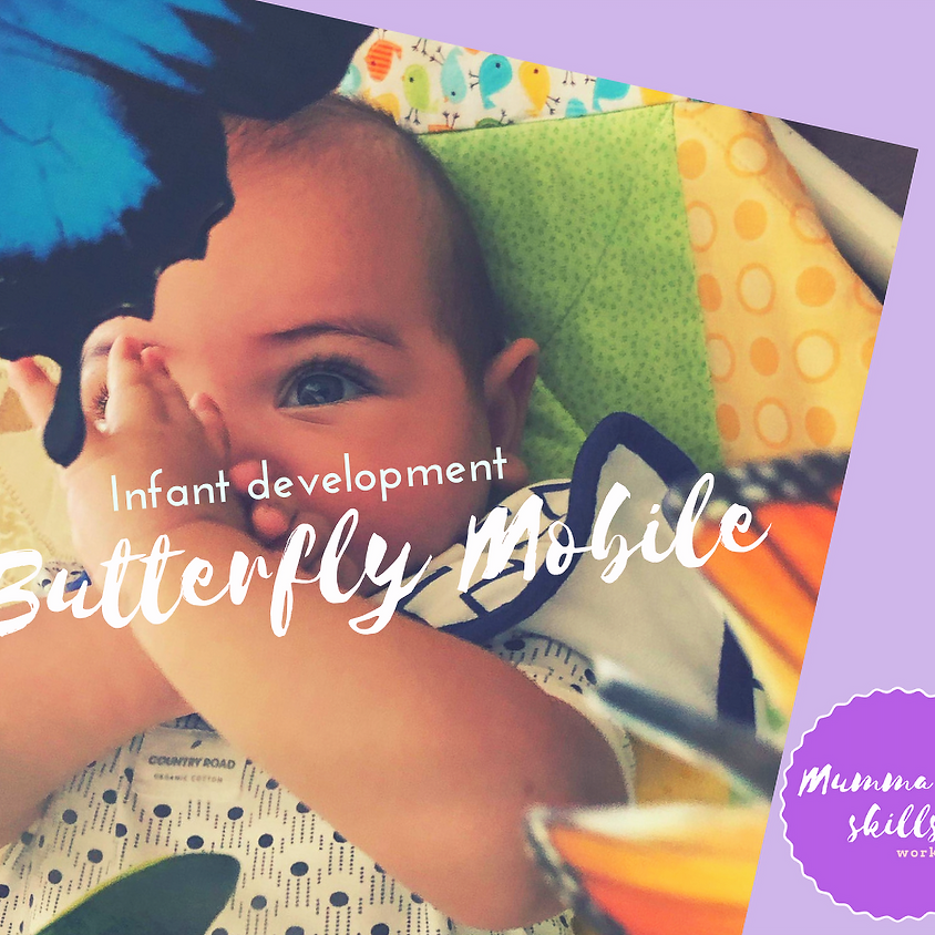 Mums and Bubs Butterfly Learning Mobile
