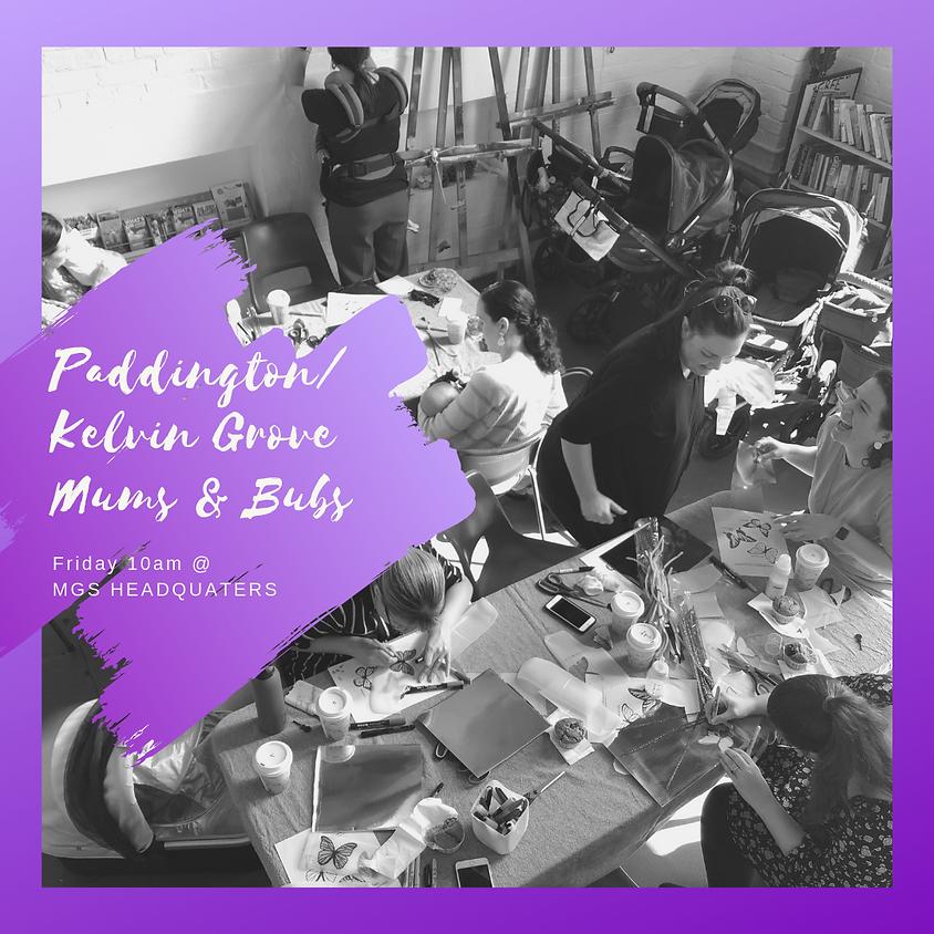 Paddington/ Kelvin Grove Mums and Bubs 6 Week Craft Group