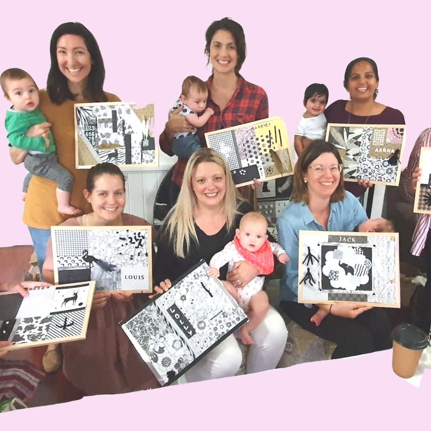 Waitlist Mums and Bubs 6 Week Craft Group