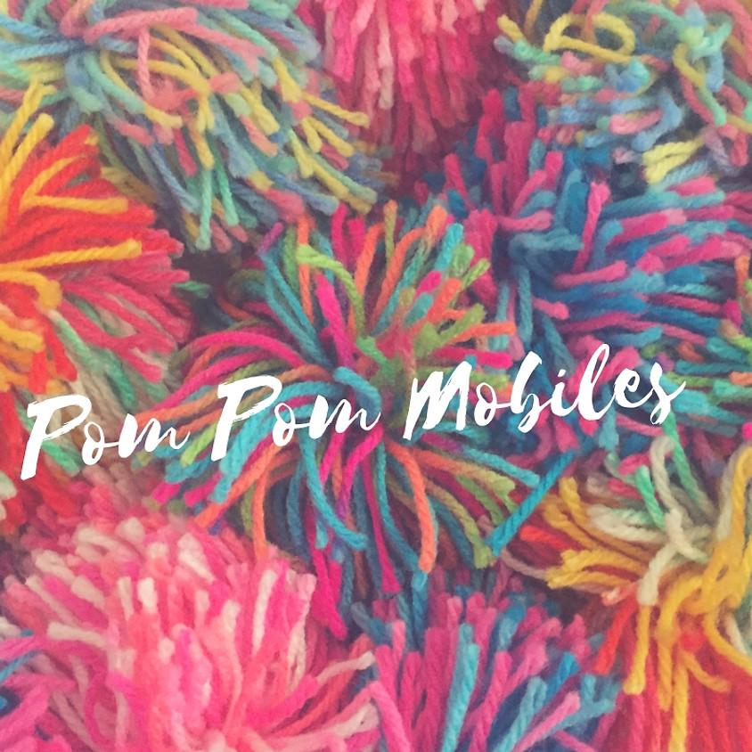 Pom Pom Mobiles