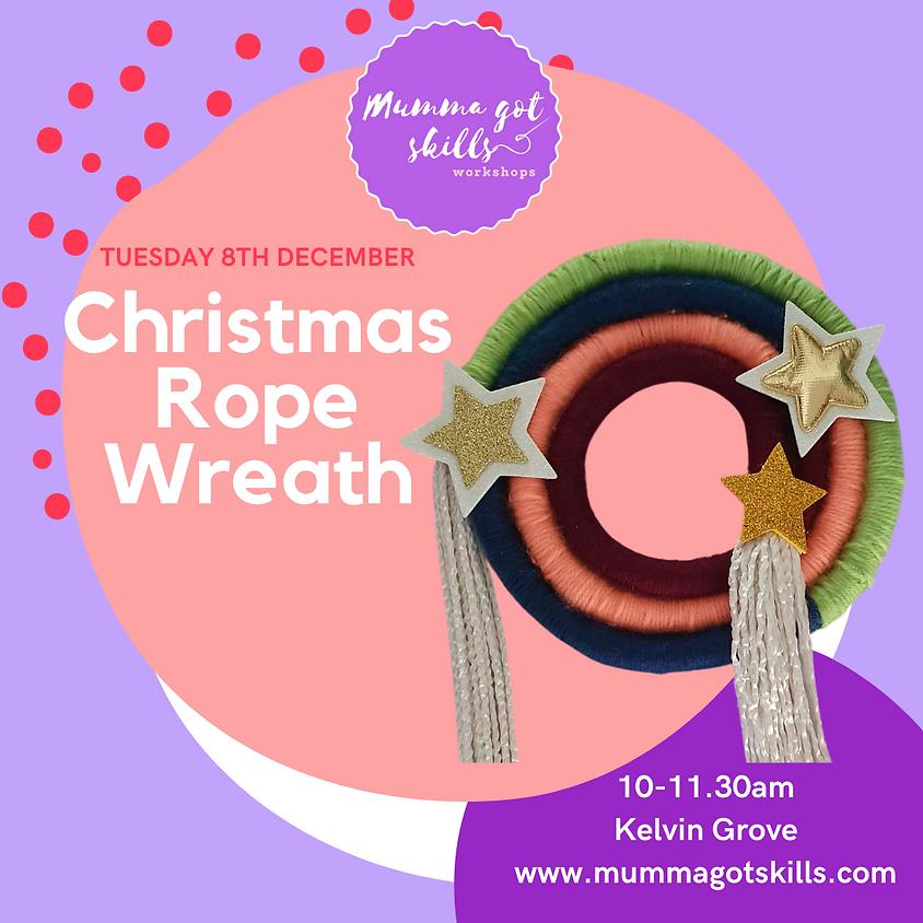 Christmas Rope Wreath