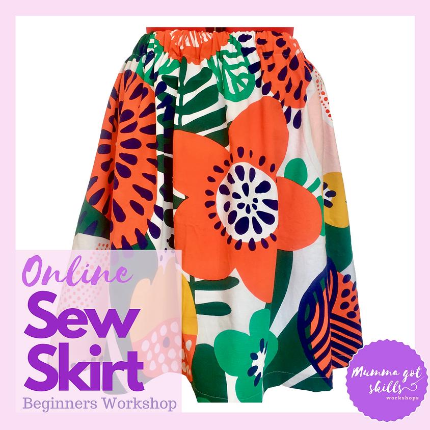 Sew a Skirt (Beginner)