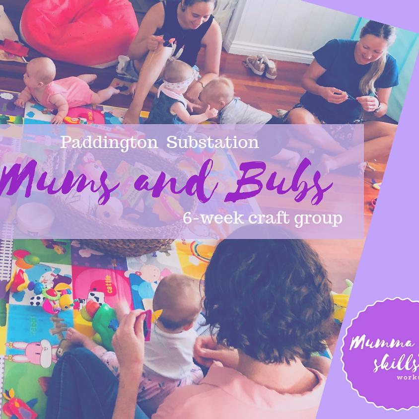 Mums and Bubs 6 Week Craft Group  (Paddington)