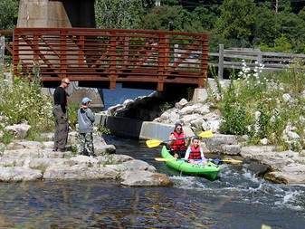 Ann Arbor Cascades in Canoe & Kayak Magazine