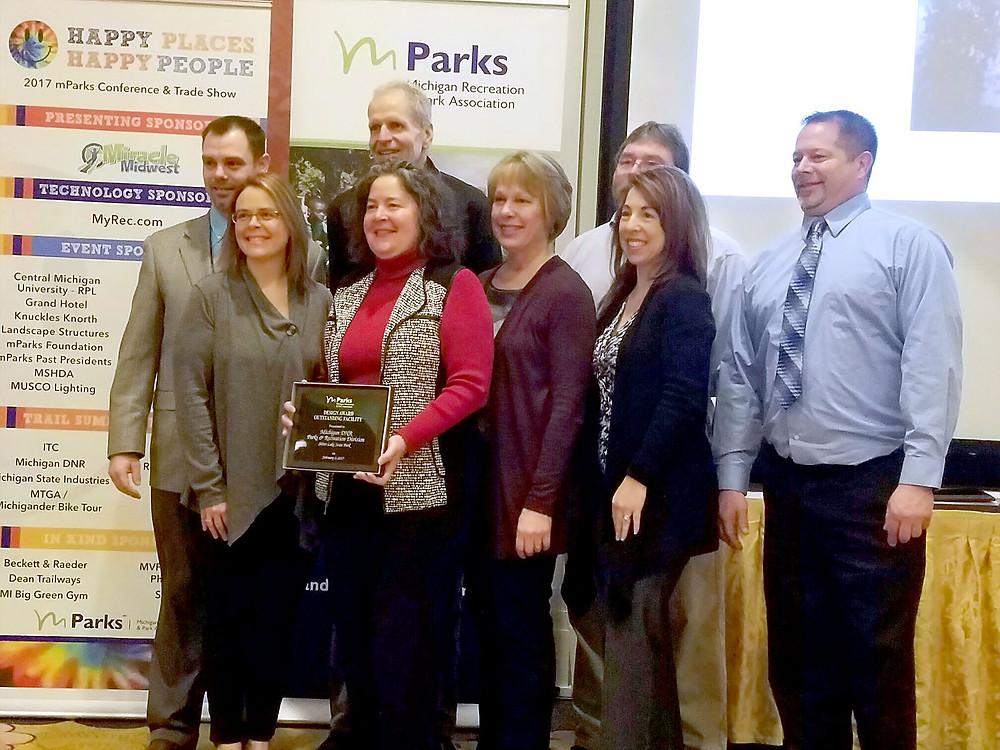 mParks award ceremony