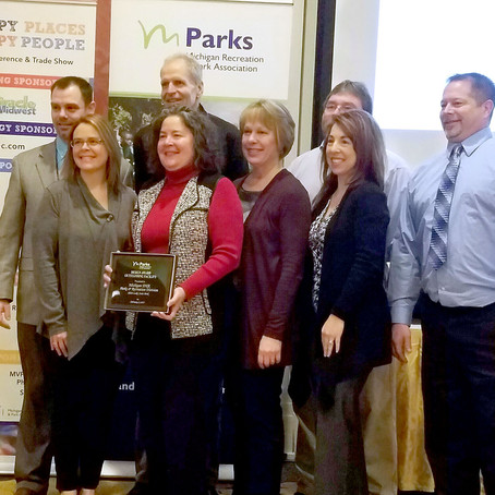 Silver Lake State Park receives Facility Design award