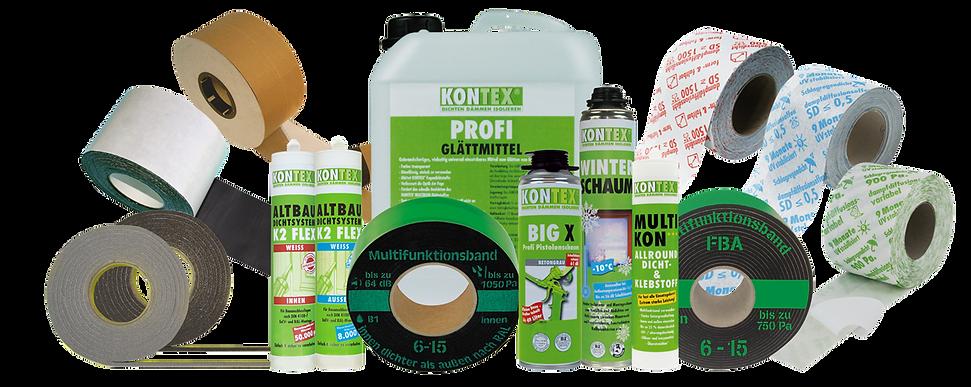 Produkte KONTEX Bausysteme