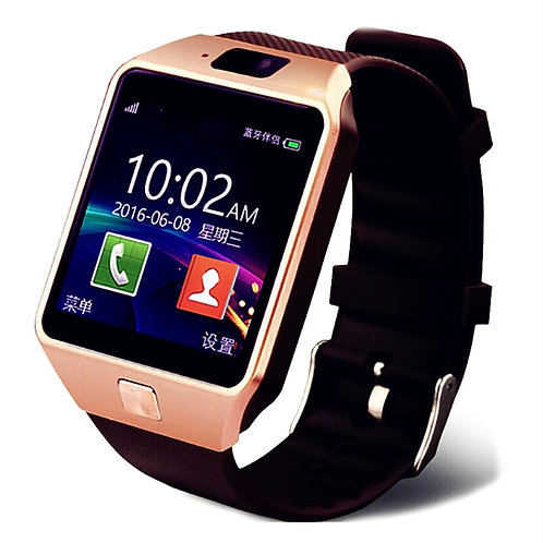 DZ09 Smart Watch  TF  SIM Camera Sport Bluetooth : Samsung Huawei Xiaomi