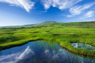 月山 弥陀ヶ原 Mt. Gassan, Midagahara Marsh