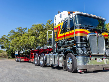 New Kenworth Extendable Supertilt added to the Knights Fleet