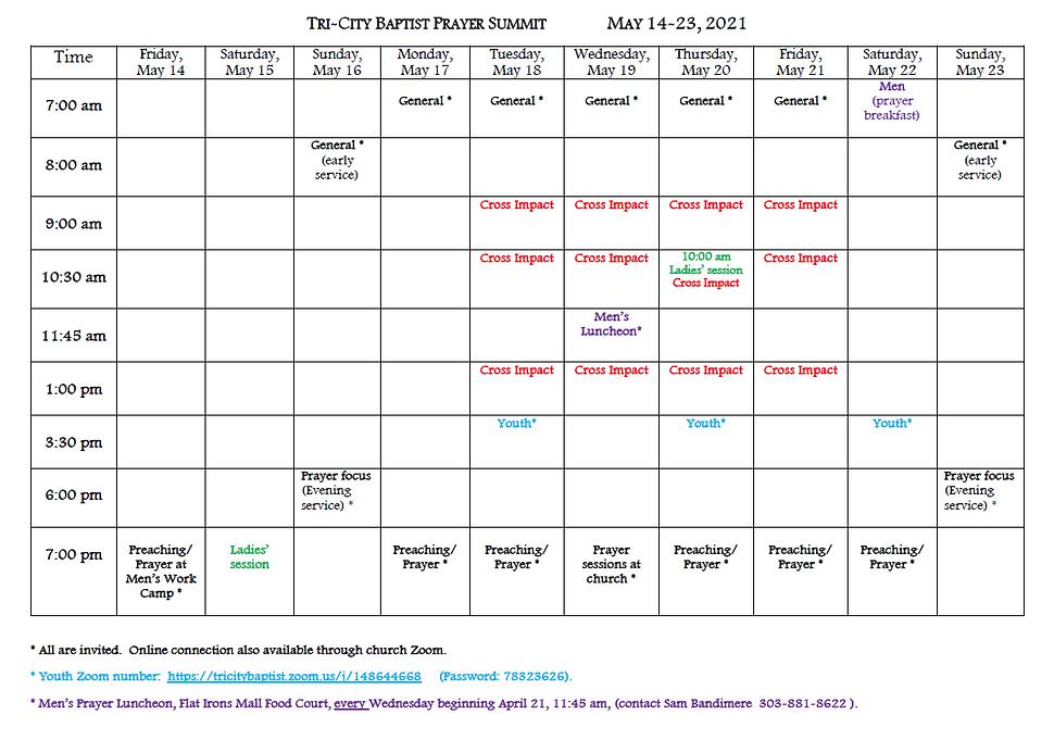 2021 Ten Day Prayer Summit Schedule.PNG