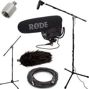 RODE VideoMic Pro Microphone + Booming Set